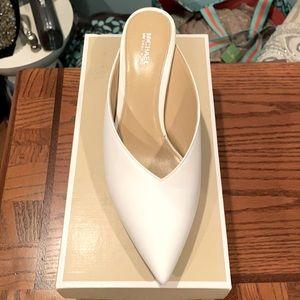 Michael Kors Leather Optic White 8 shoes!